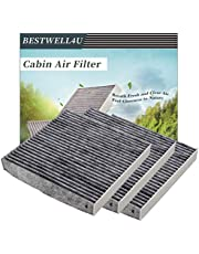 3 Pack Cabin Air Filter for KIA,Hyundai,Replacement for CP819,CF11819