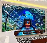 Pared Decoracion Acuario 3D Diseño de arte Decoración Sala de estar Dormitorio TV Fondo Pared