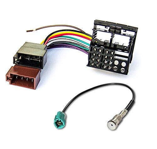 Watermark WM-1320S1 Radioadapter + Antennenadapter für VW RCD 200 300 310 500 510 Radio
