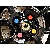 JTAccord Metall Auto Emblem Rad Mitte Radkappe Radabzeichen Abdeckungen Dekoration Aufkleber für Smart 453 Fortwo Forfour...