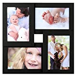 SONGMICS Collage Picture Frames, 4 x 6 Inches for 4 Photos, Picture...