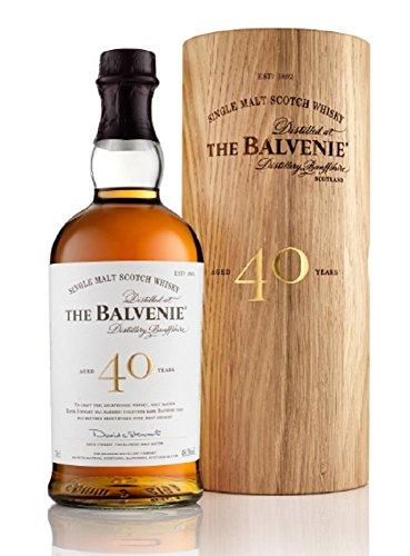 Balvenie The 40 Years Old Single Malt Scotch Whisky 48,5% Volume 0,7l in Holzkiste