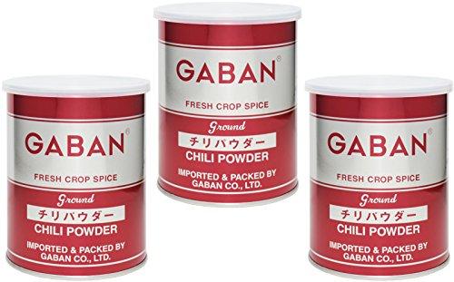 GABAN チリパウダー(缶) 225g