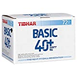 Tibhar Ball Basic 40+ SYNTT NG 72er, weiß