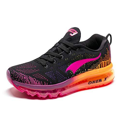 ONEMIX Mujer Zapatillas Deporte Running Aire Libre Respirable Zapatos para Correr Gimnasio Sneakers 1118 39EU