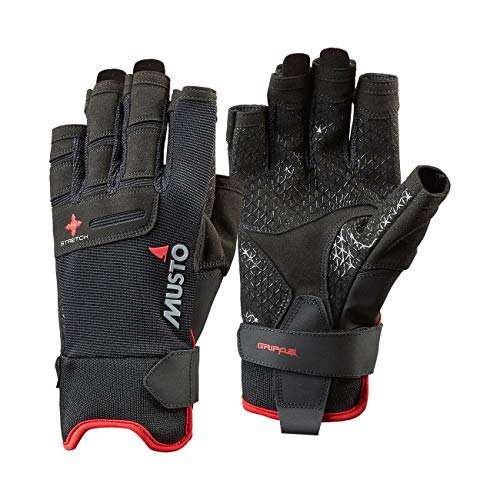 Musto Performance Short Finger Sailing Gloves - 2018 - Black M