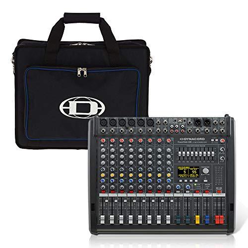 Dynacord PowerMate 600-3 Mischpult, 8 Kanäle, 2000 W, FX USB, inkl. Tasche