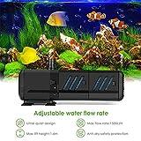 Filtro Sommergibile Filtro Interno Dell'acquario Animali Acquatici Pesci Anfibi Piante Acquatiche Invertebrati Rettili Pompe Ad Aria Pompe Acquario (Size : 15W)