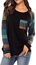 Blouses for Womens, FORUU Fashion Stripe Casual Top T Shirt Loose Long Sleeve Top