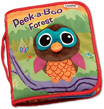 LAMAZE Peek-A-Boo Forest Fun Interactive Baby Book with Inspiring Rhymes and Stories Multi one Size  L27901B