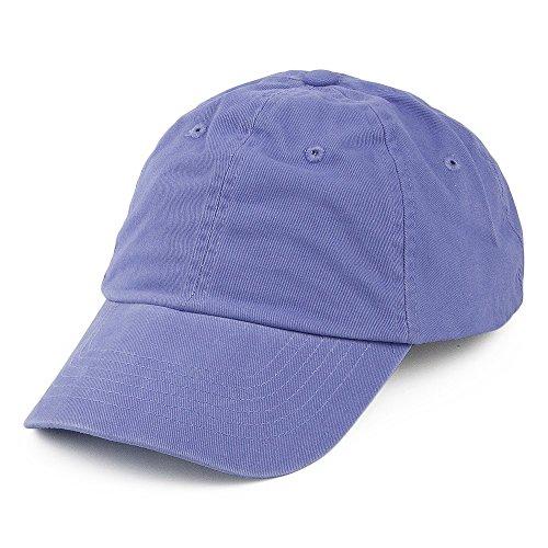 Casquette en Coton Délavé Violet - Violet - Ajustable
