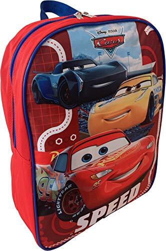 Cars Lighting McQueen 15' School Bag Backpack