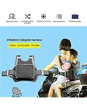 Allrightip ツーリング セーフティーベルト/バイク オートバイ/子供/二人乗り(折りたたみ式収納) decent