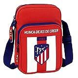Safta Bandolera Atlético De Madrid Oficial Con Bolsillo Exterior 160x60x220mm