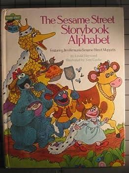 Hardcover Sesame Street Storybook Alphabet Book