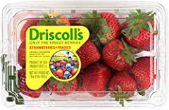 One 16 oz. Package of driscoll's strawberries Originates from watsonville, california Product of usa