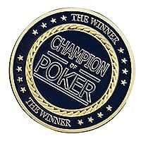 #N/A ゴールドプレートコイン 記念コイン クラブゲーム メタル ポーカーチップ コレクション 全6種 - スタイル6