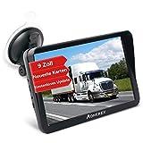 Aonerex - Navegador GPS para coche, camión, coche, 9 pulgadas, dispositivo de navegación...