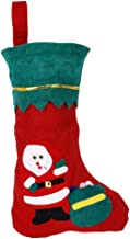 PIXNOR 12Pcs Stockings Gift Bag Decoration Santa Snowman Christmas Tree Pattern