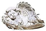 WQQLQX Statue Fantasy Engel Statue, Garten Angel Skulptur Leuchtende Engel Solar Licht Outdoor Garten Garten Harz Handwerk Geschenk Dekoration Zubehör Statuette Skulpturen