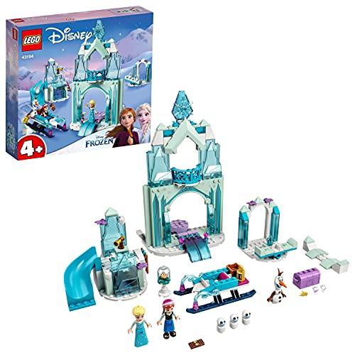 LEGO 43194 Disney Anna en Elsas Frozen Wonderland Kasteel Constructie Speelgoed Voor Kinderen Van 4 Jaar en Ouder