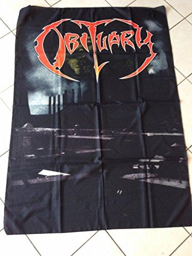 Obituary–Flagge Stoff 133x 94cm