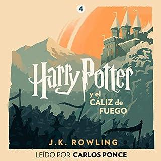 Page de couverture de Harry Potter y el cáliz de fuego (Harry Potter 4)