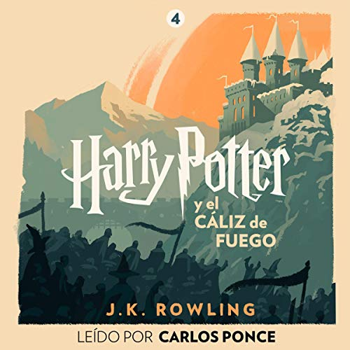 『Harry Potter y el cáliz de fuego (Harry Potter 4)』のカバーアート