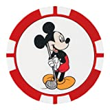 DUNLOP(ダンロップ) グリーンマーカー Disney ディズニー チップマーカー GGF-07105 レッド