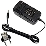 HQRP Charger Compatible with Century Solar ESA26 Truck PAC ES1224 Jump Starter Booster Pac 141-342-000 141-342-100 DC1501500 AC Adapter Power Supply Cord + Euro Plug Adapter