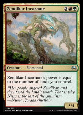Magic The Gathering - Zendikar Incarnate (219/272) - Origins