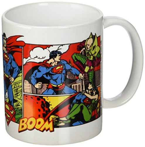 DC Originals MG23665 Mug céramique-Superman, Multicolore, 7,9x11x9,3 cm