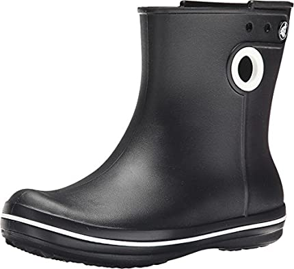 Crocs Jaunt Shorty Boot Mujer Botas De Agua, Negro (Black), 38/39 EU