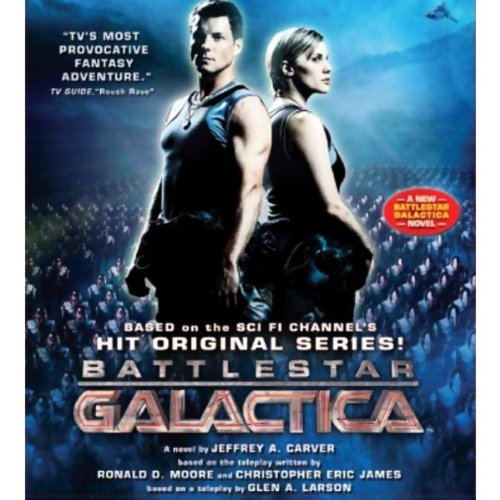Battlestar Galactica audiobook cover art
