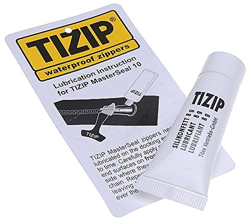 TiZip Zipper Lubricant for Drysuits, Bagpipes and Packrafts, 8 grams