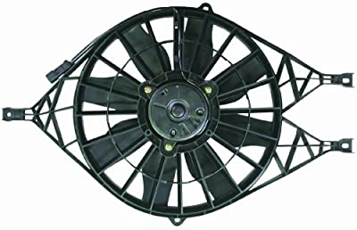 DEPO 334-55012-100 Replacement Engine Cooling Fan Assembly (This product is an aftermarket product. It is not created or sold by the OE car company)