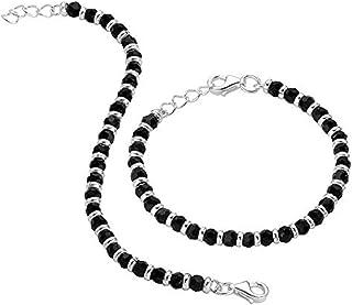 DARSHRAJ Jewellers 925 Sterling Pure Silver Nazariya Bracelet For New Born Baby Boy|Girls| Size 4.5 inches