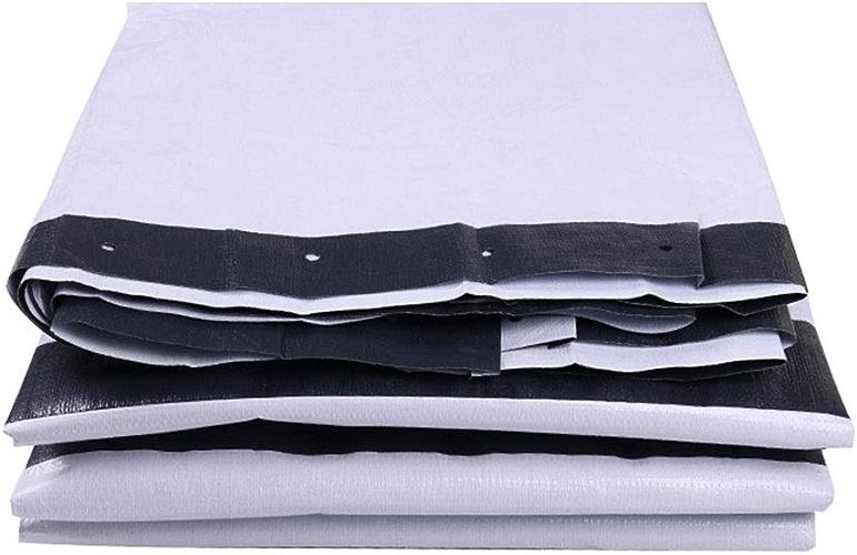 Toile de prougeection solaire de bache de prougeection solaire de tissu de parasol d'épaississeHommest d'isolation à trois couleurs de papier de bache de balcon de poncho imperméable à l'eau du ménage 180g