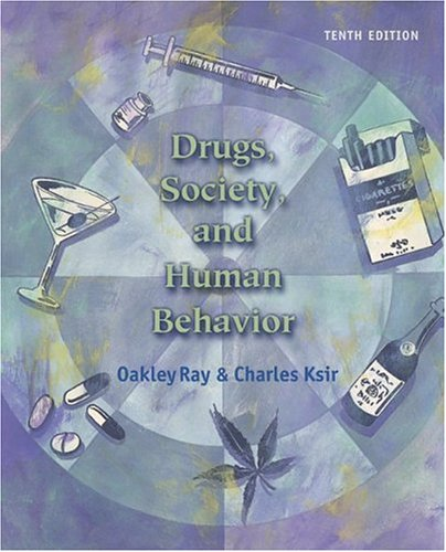 Drugs,  Society, and Human Behavior w/PowerWeb/OLC Bind-in Card & HealthQuest CD