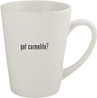 got carmelite? - Ceramic 12oz Latte Coffee Mug
