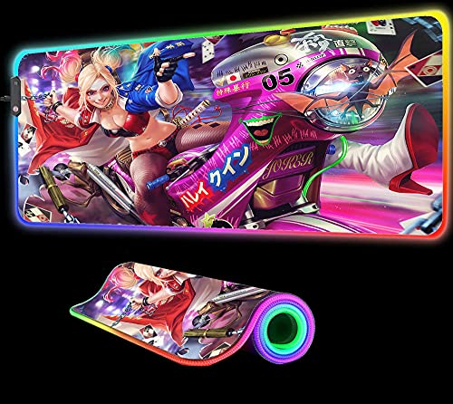 Gaming Mouse Pad Anime Girl Harley Quinn Mouse Pad...