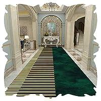 KKCF 廊下のカーペット、 廊下用の長い敷物 マイクロファイバー 滑り止めラバーバッキング ベッドルーム リビングルーム キッチン、 サイズはカスタマイズ可能 (Color : A, Size : 0.8x7m)