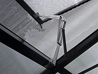 BIBISTORE Solar Auto Ventilation Window Opener with Two Springs for Hothouse Greenhouse Coldframe