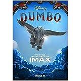 WXUEH Dumbo Film Tim Burton Colin Farrell Poster Und Drucke
