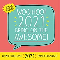 Happy Jackson 2021 Family Organiser Calendar - Official Square Wall Format Calendar