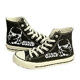 Telacos Star Wars Zapatos Darth Vader Anakin Skywalker Zapatos de lona Cosplay Zapatillas