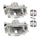 Set of 2 Front Brake Caliper Assembly for Honda Civic 1996-2001 Insight 2010-2014 Acura EL 1997-2000