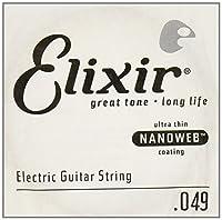Elixir エリクサー エレキギター用 バラ弦 NANOWEB .049 #15249 【国内正規品】