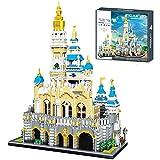 ZzWEI Magic Princess Castle Model Building Blocks 5297Pcs 3D DIY Diamond City Arquitectura Parque De Atracciones Ladrillos Juguetes Creativos para Niños Regalos