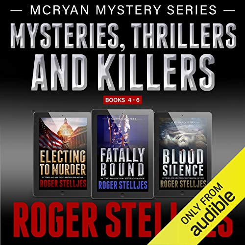 Couverture de Mysteries, Thrillers and Killers: Crime Thriller Box Set